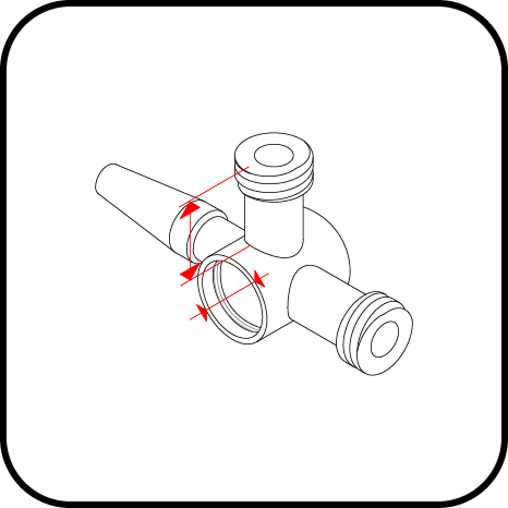 Stopcock measurement
